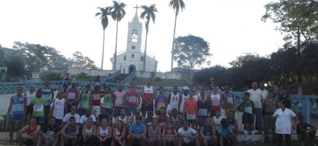 Corredores na largada em Conceição da Boa Vista. Foto: Arquivo.
