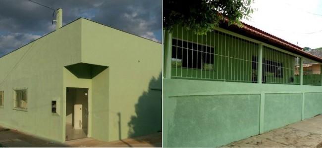 Unidade de Saúde (Barreiros) e Centro Educacional (Conceição da Boa Vista).