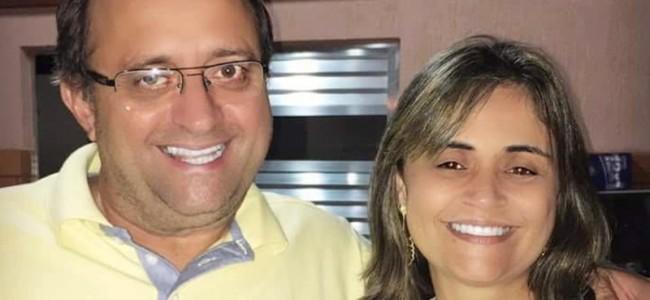 Oninho e Renata. Foto: Facebook Ônio Fialho Miranda.