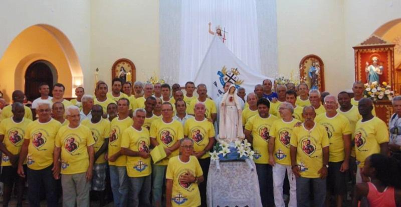 Apostolado do Terço dos Homens da Paróquia Jesus Menino Deus de Recreio.