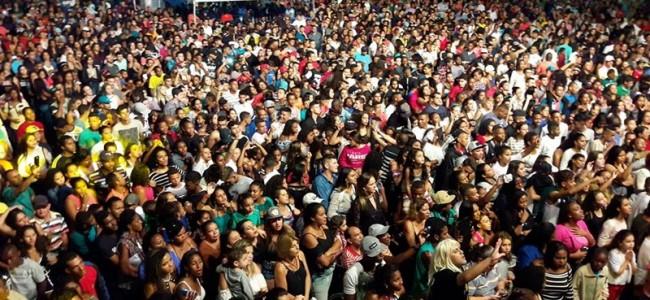 Público lotando a Exposição no sábado. Foto: Facebook Caíque Willians.