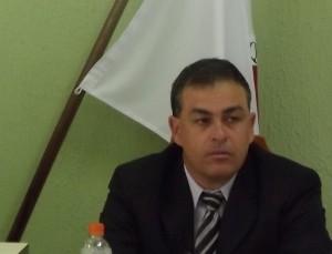 Fabrício, presidente da Câmara.
