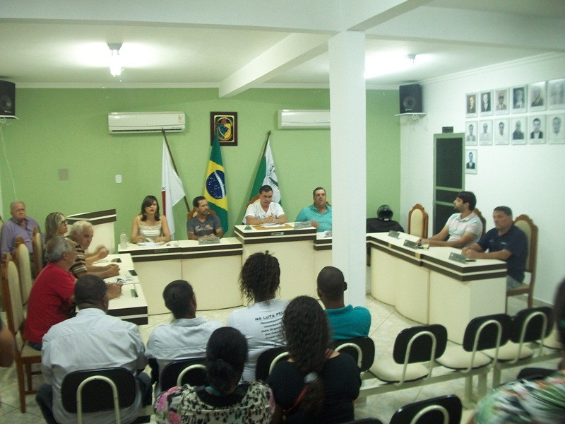 Sessão da Câmara Municipal.