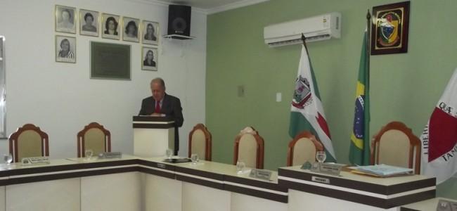 Plenário da Câmara Municipal. Foto: Arquivo.