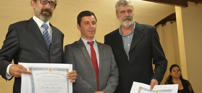 Zé Maria Barros, Dr. Gustavo e João Dólar.