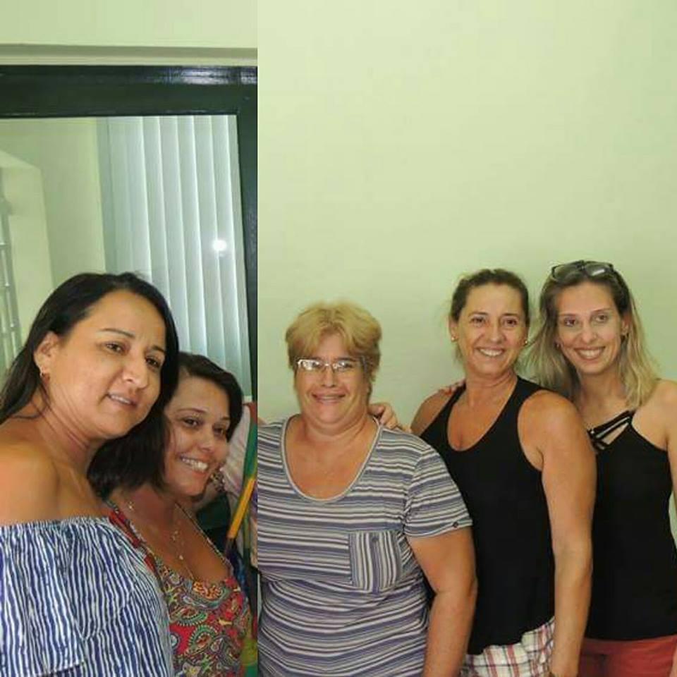 Equipe da E.M Profª. Nice Damasceno de Almeida Muniz.
