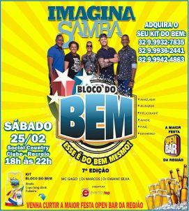 Bloco Do Bem – 25/02 – Carnaval de Recreio 2017!