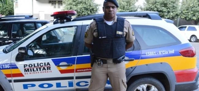 Sargento da PM, Marcus Vinícius Geraldo.