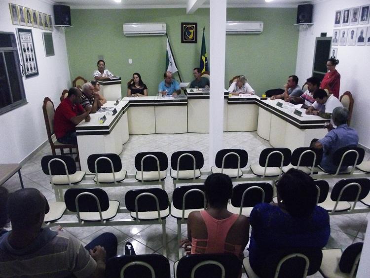 Reunião da Câmara de Recreio.