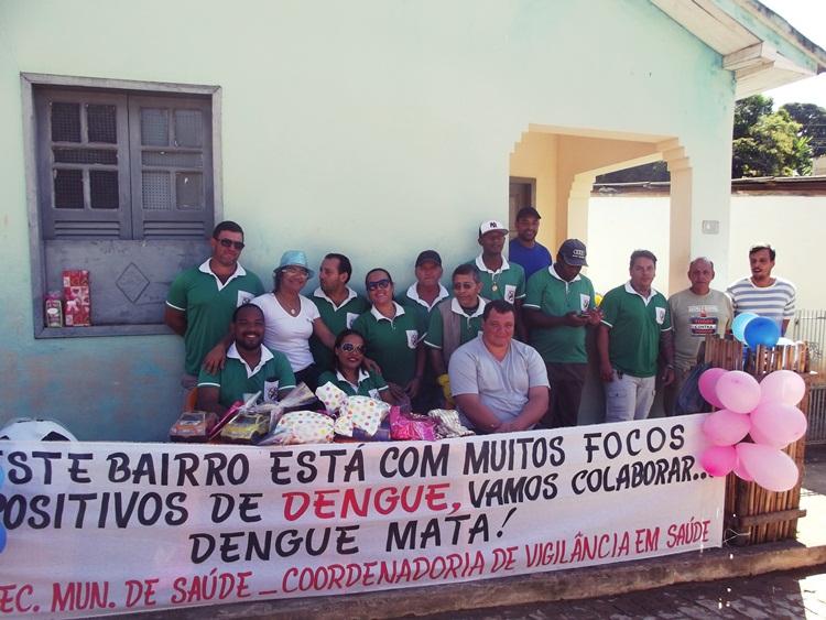 Equipe da saúde em Conceição da Boa Vista.