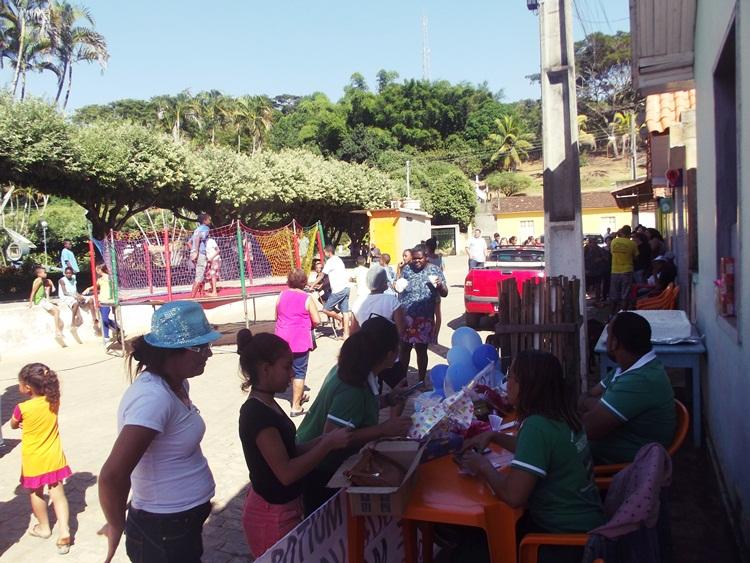 Mobilização em Conceição da Boa Vista.