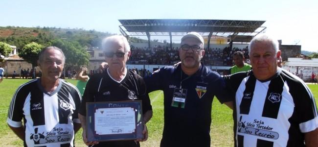 "Carlos Sérgio ""Daú"", Sr. Guaraci, Paulo Santana e Manoel Antônio."