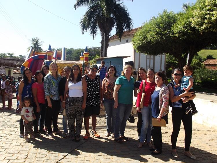 E.E Presidente Carlos Luz participando da mobilização.