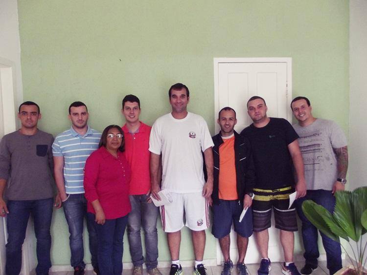Participantes da reunião da apresentação da Santo Higino 2017.