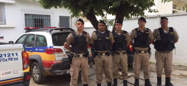 Apresentação dos novos militares do destacamento de Recreio.