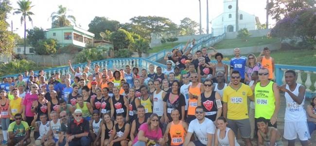 Atletas na largada em Conceição da Boa Vista.