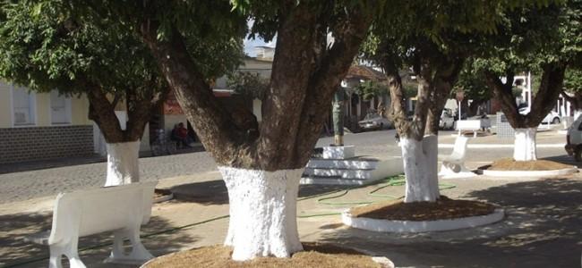 Largo Santo Antônio depois da simples reforma.