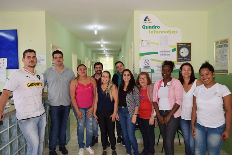 Equipe do CRAS e equipe da UBS de Conceição.