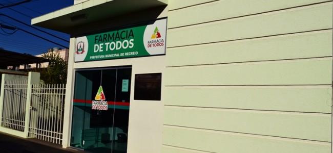 Farmácia de Todos de Recreio.