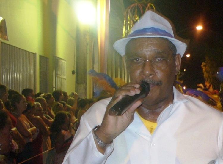 Lino Lelis, sambista da ERUS.