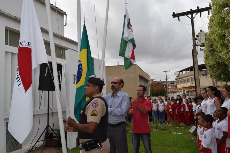 Sargento Marcus Vinícius, prefeito de Recreio e presidente da Câmara.