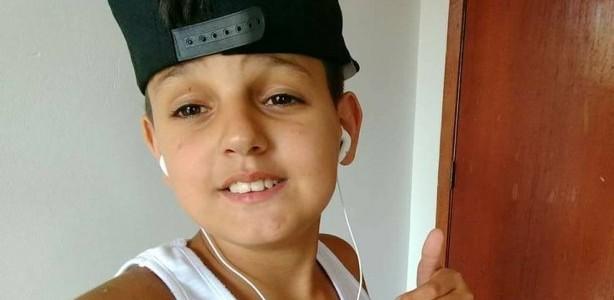 Gustavo, de 11 anos de idade. Foto: Acervo da Família.