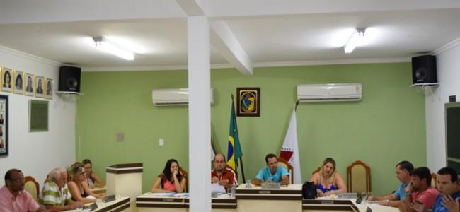 Sessão da Câmara Municipal de Recreio.