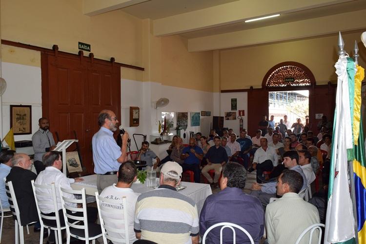 Reunião do Grupo de Trabalho do Trem Rio-Minas.