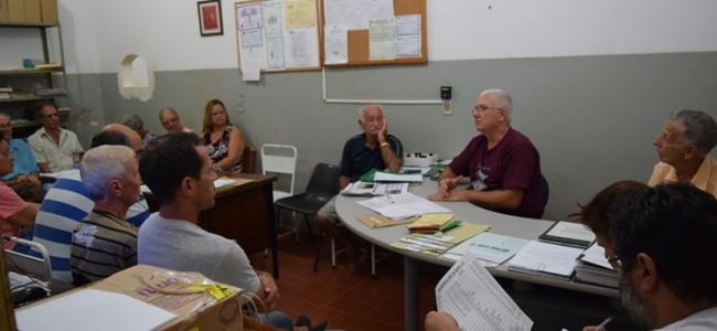Reunião no Hospital São Sebastião.