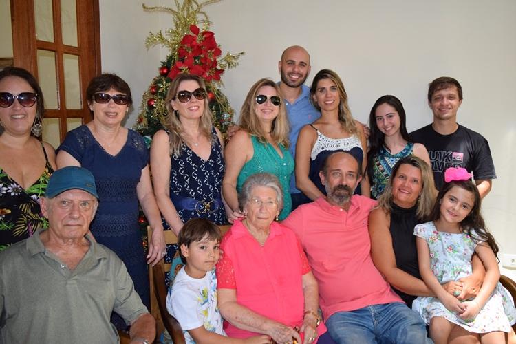 Prefeito e sua família.